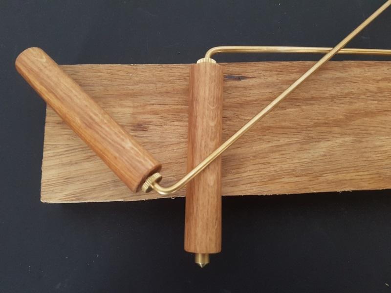 poignées de baguette pour géobiologues en bois sur mesure